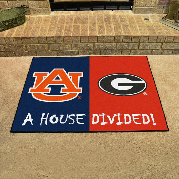 House Divided - Auburn / Georgia Doormat by FANMATS