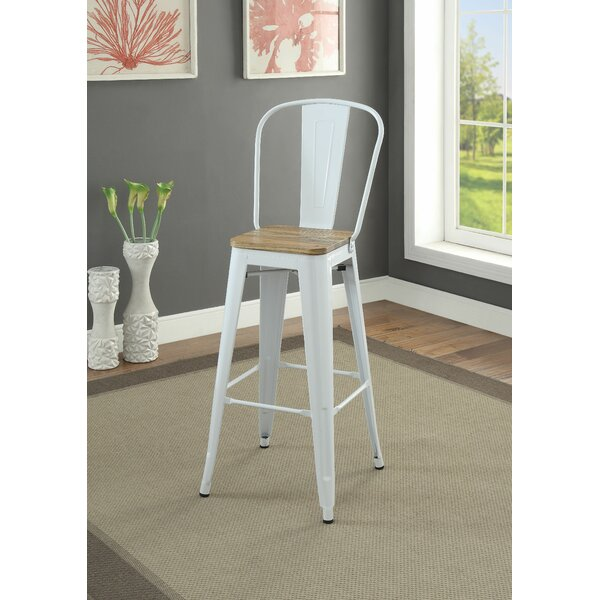 Waters 30 Bar Stool (Set of 2) by Gracie Oaks