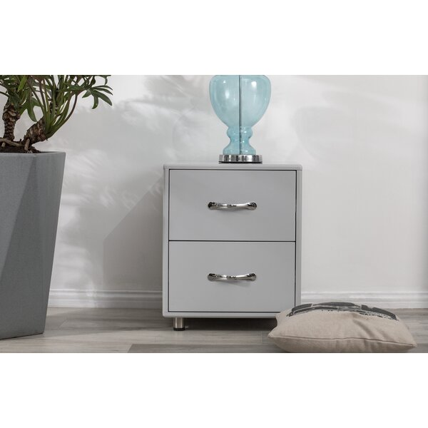 Waucoma 2 Drawer Nightstand By Ebern Designs