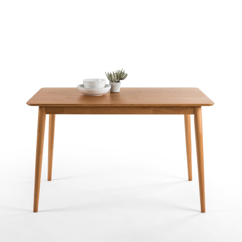 Corrigan studio kaylen mid century modern wood dining for Wayfair mid century coffee table