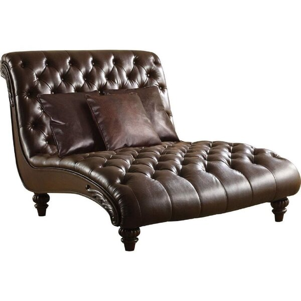 Capuano Chaise Lounge By Astoria Grand
