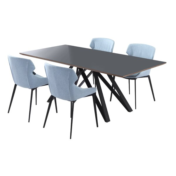 Modern Dereham 5 Piece Dining Set (Set Of 5) By Corrigan Studio Discount