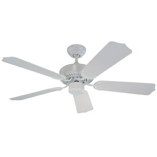 Great choice 42 Huertas 5 Blade Outdoor Ceiling Fan By Darby Home Co