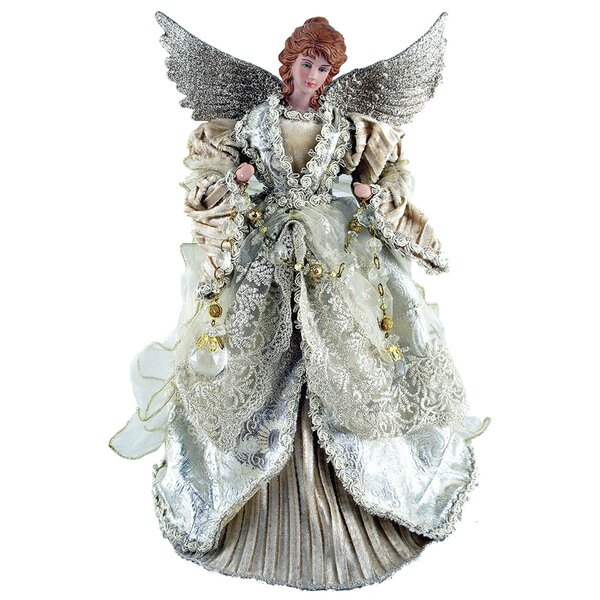 Gilded Angel Tree Topper by Astoria Grand