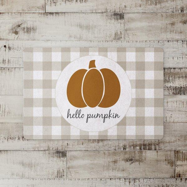 Roselyn Hello Pumpkin Kitchen Mat