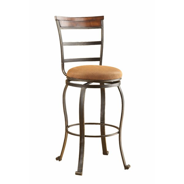 Timmothy 29 Swivel Bar Stool (Set of 2) by Bloomsbury Market