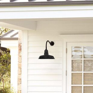 Compare prices Oldage 1-Light Outdoor Barn Light By Cocoweb