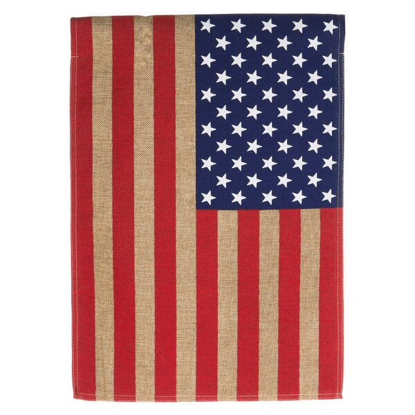 American Flag Garden Flag by Evergreen Flag & Garden