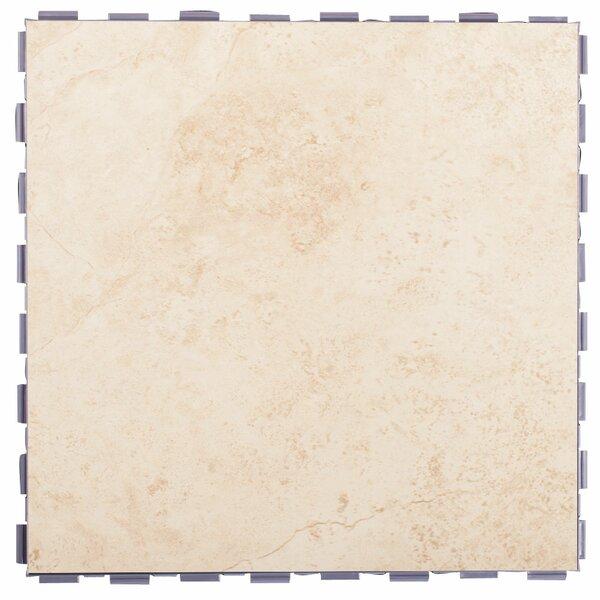 Classic Standard 12 x 12 Porcelain Field Tile in Beige by SnapStone