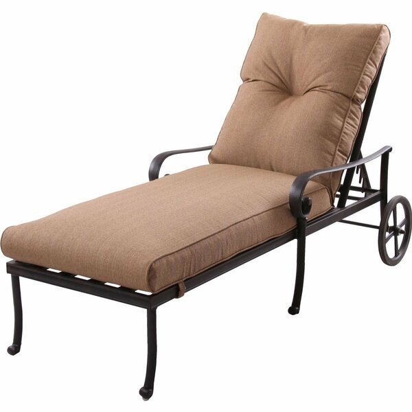 Santa Anita Reclining Chaise Lounge with Cushions