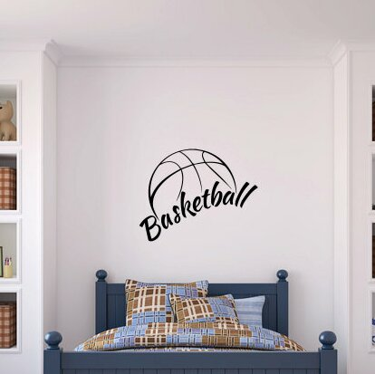Omar Basketball Wall Decal by Zoomie Kids