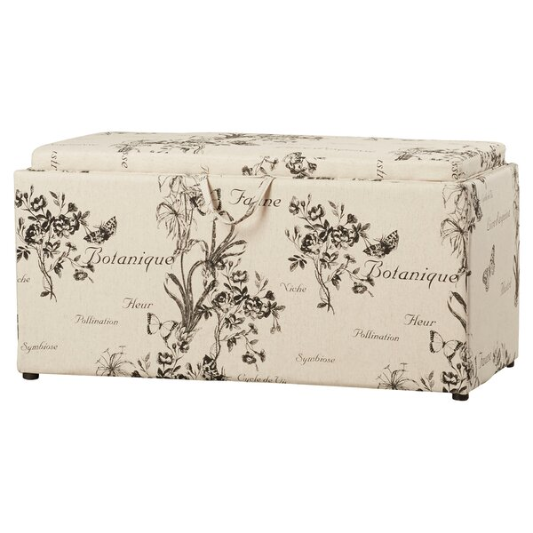 Orleans Upholstered Storage Bench by Lark Manor