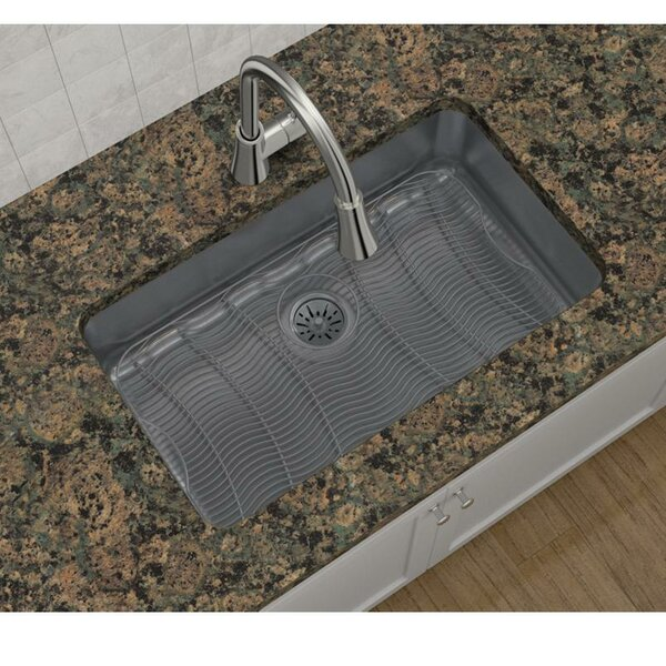 Lustertone 31 L x 19 W Undermount Kitchen Sink with Perfect Drain by Elkay