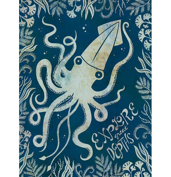 Explore the Depths by Alice Feagan Paper Print by Oopsy Daisy