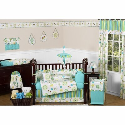 Layla 9 Piece Crib Bedding Set by Sweet Jojo Designs