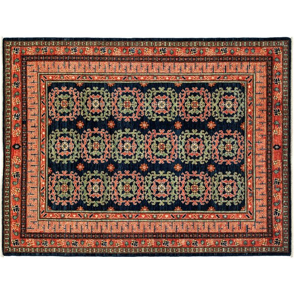 One-of-a-Kind Ziegler Hand-Knotted Multicolor Area Rug by Darya Rugs