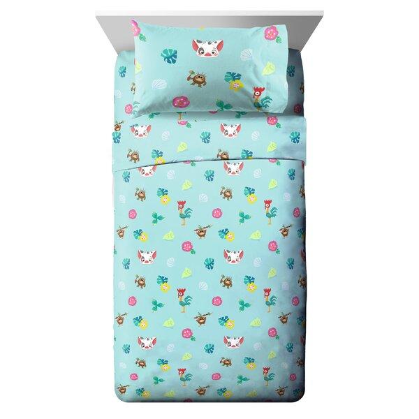 Disney Moana Flower Power Reversible Comforter Set