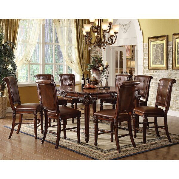 Gabler 9 Piece Pub Table Set by Astoria Grand