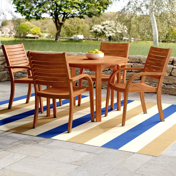 Kelemen 5 Piece Dining Set by Beachcrest Home
