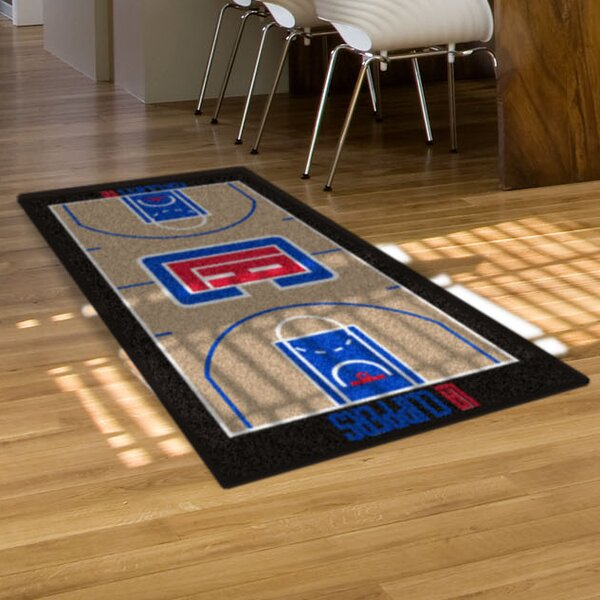 NBA - Los Angeles Clippers NBA Court Runner Doormat by FANMATS