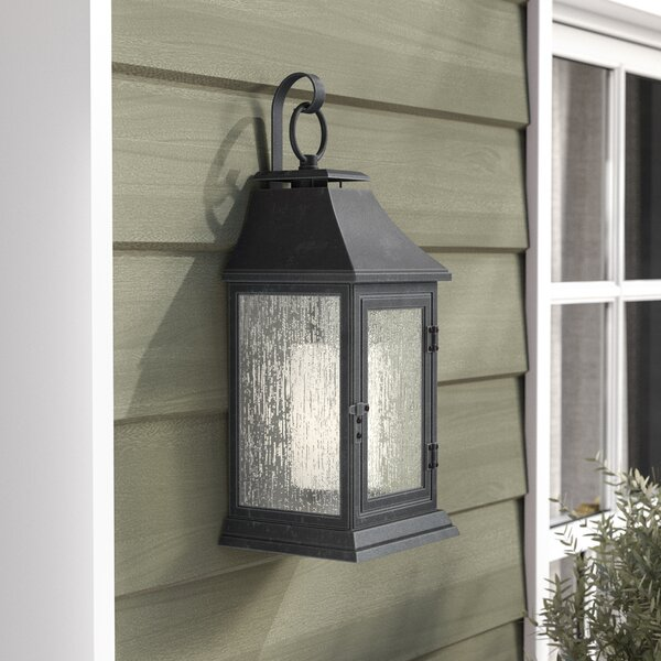 Roseman 1-Light Outdoor Wall Lantern by Sol 72 Outdoor