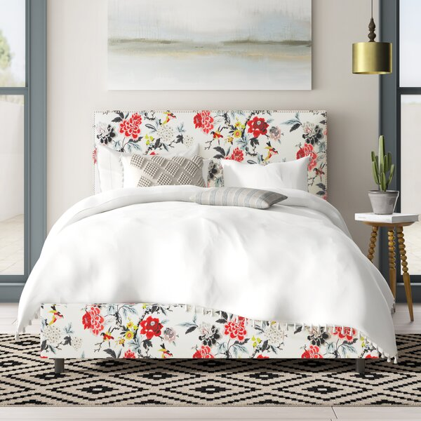 Framingham Upholstered Standard Bed by Mistana