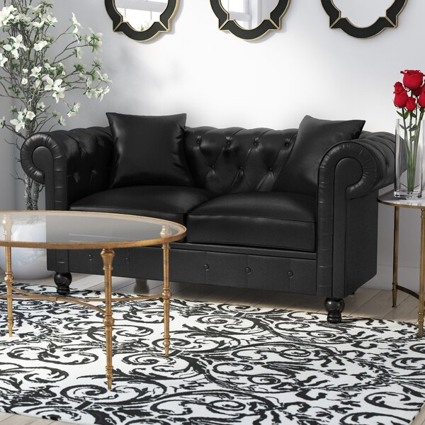 Antonie Chesterfiled Loveseat by House of Hampton