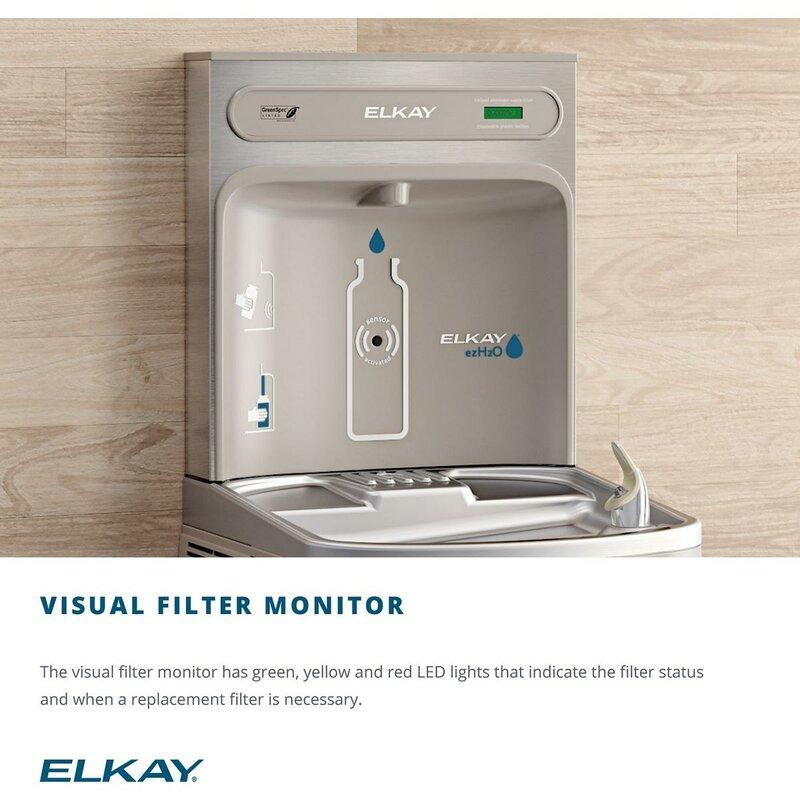 elkay water fountain filter