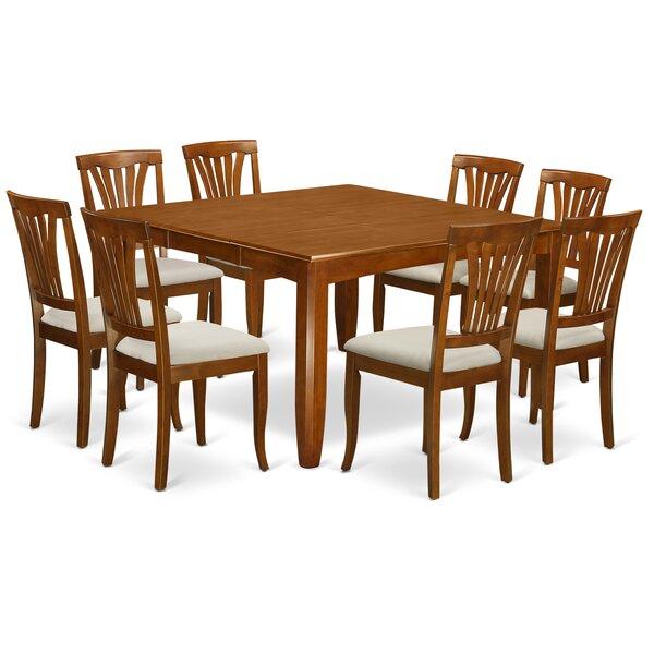 Parfait 9 Piece Extendable Dining Set by Wooden Importers