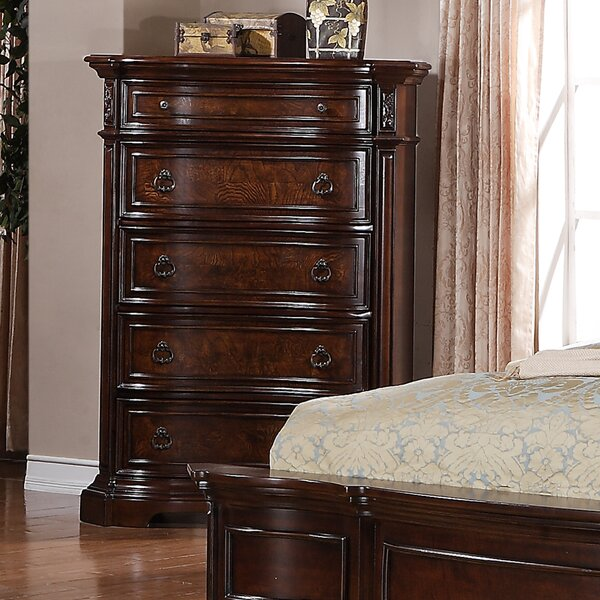 Hendricks 5 Drawer Chest by Astoria Grand