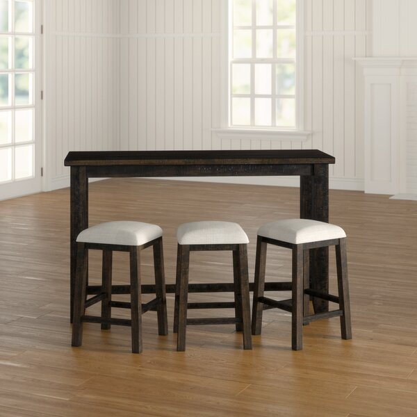 Kentwood Multi-purpose 4 Piece Dining Set By Three Posts