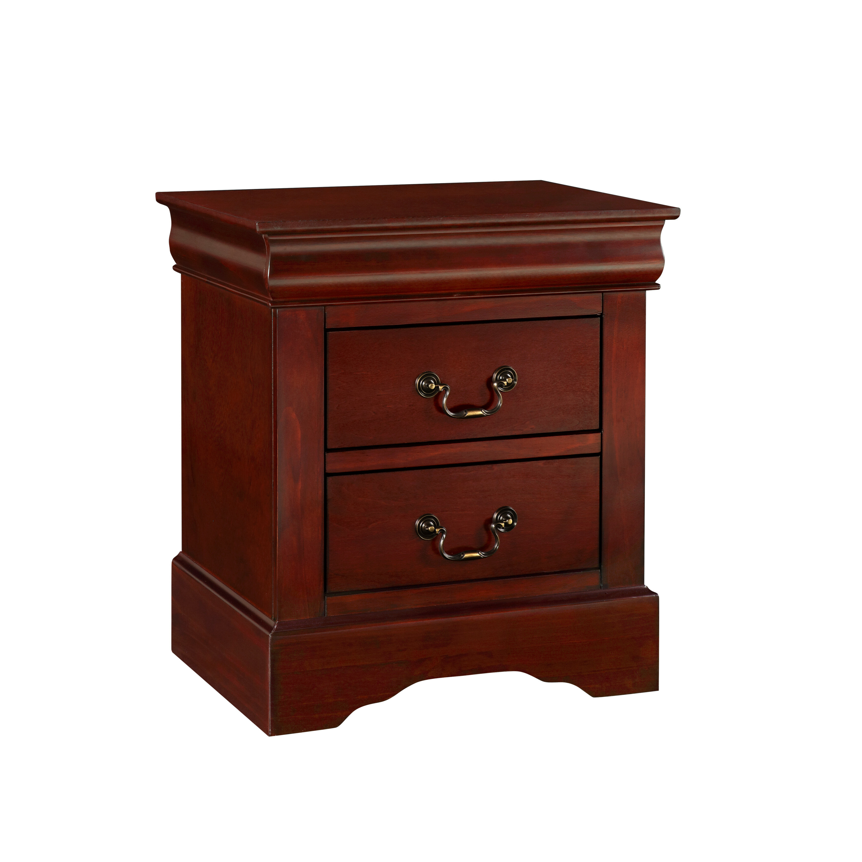 Standard Furniture Lewiston Nightstand Black