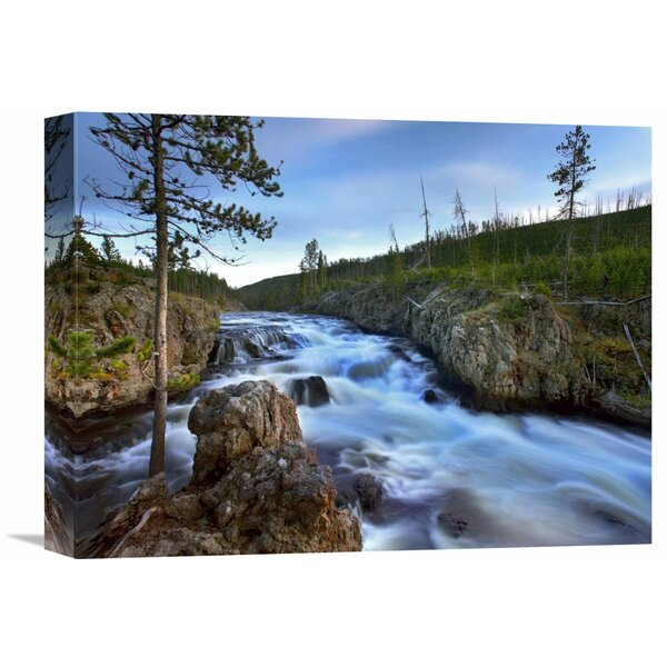 Nature Photographs Firehole River, Yellowstone National Park, Wyoming by Tim Fitzharris Photographic Print on Wrapped Canvas by Global Gallery