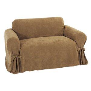 Chic Box Cushion Loveseat Slipcover