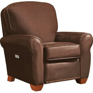 Emerson Leather Power Recliner..