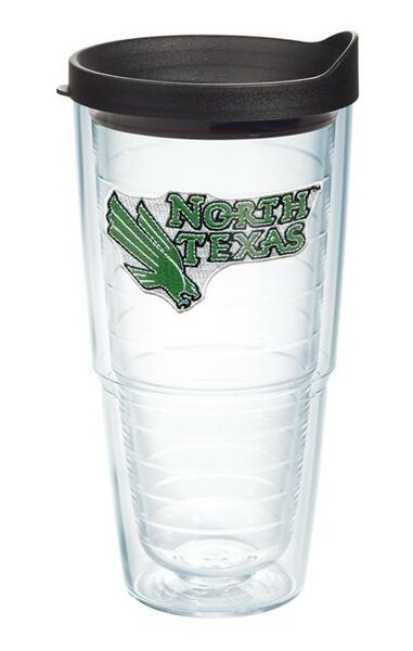 Collegiate North Texas 24 oz. Plastic Every Day Glass by Tervis Tumbler