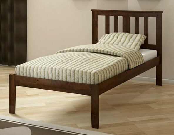 Auvergne Twin Slat Bed by Harriet Bee