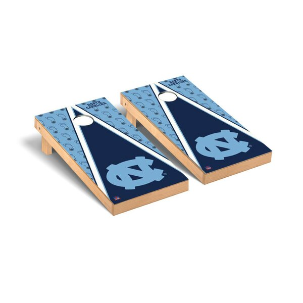 NCAA Triangle Version 2 Cornhole Game Set by Victory Tailgate