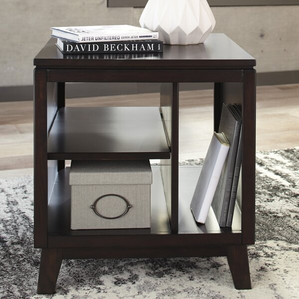 Garrison End Table by Corrigan Studio