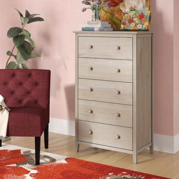 Sommerville 5 Drawer Chest by Alcott Hill