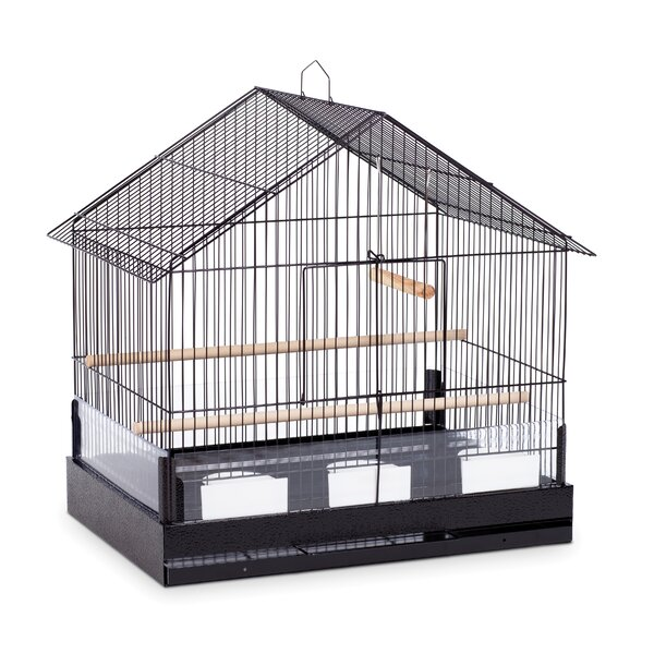 Lincoln Hanging Bird Cage with Removable Tray by P