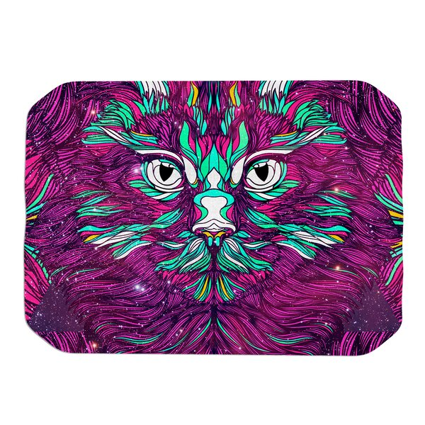 Danny Ivan Space Cat Placemat by East Urban Home