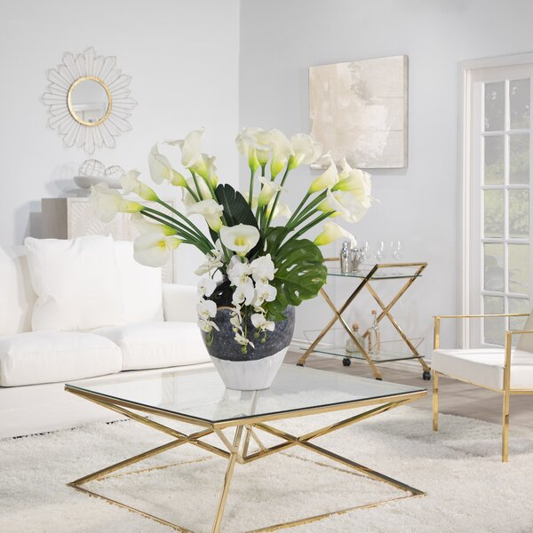 Khari Coffee Table with Tray Top by Everly Quinn Everly Quinn