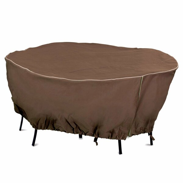 Round Table Cover by Mr. Bar-B-Q