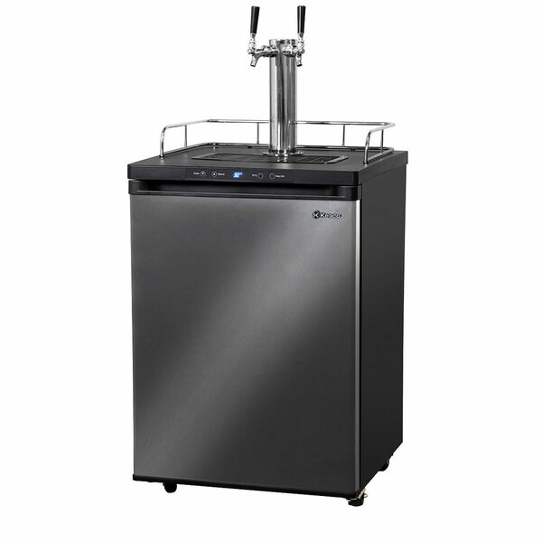 1 cu. ft. Dual Tap Full Size Kegerator by Kegco