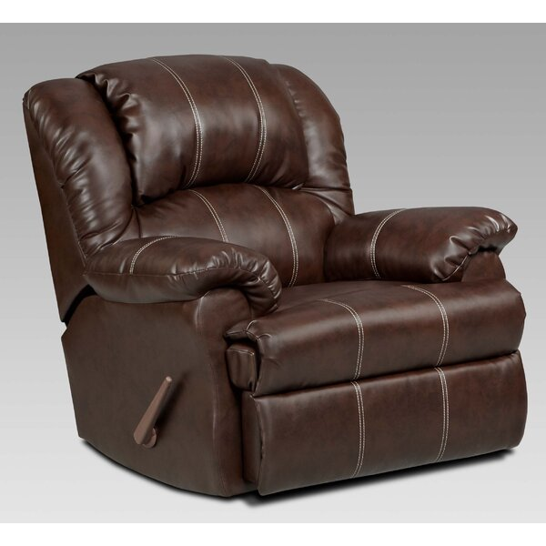 Aruba Manual Rocker Recliner [Roundhill Furniture]