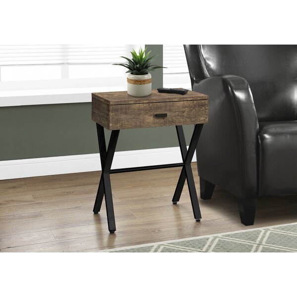 Rolfe End Table by Millwood Pines