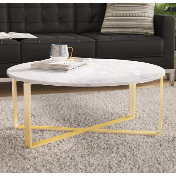 Orian Marble Coffee Table by Orren Ellis