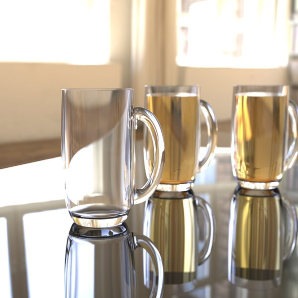 South Lamar 21 oz. Acrylic Beer Mug (Set of 4) by Latitude Run