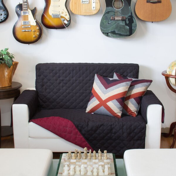 Box Cushion Loveseat Slipcover by LaCozee
